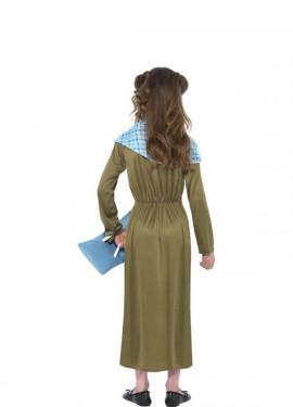 Disfraz de Boudica de Historias Horribles para niña