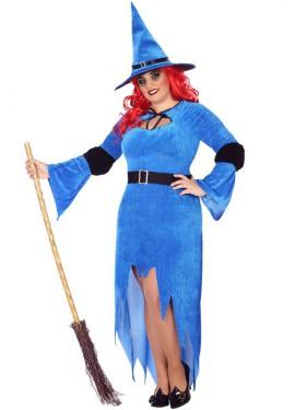 Disfraz de Bruja Azul para mujer