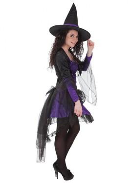 Disfraz de Bruja Madame Malva para mujer