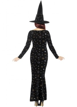 Disfraz de Bruja Magia Negra para mujer
