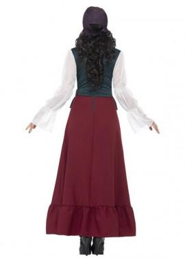 Disfraz de Bucanera Bella de lujo para mujer
