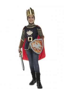 Disfraz de Caballero Medieval con accesorios para niños
