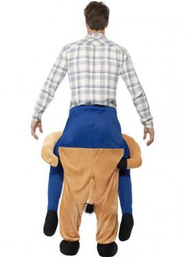 Disfraz de Caballo a hombros para adultos