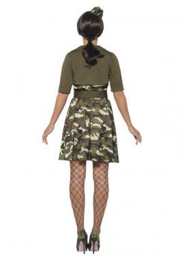 Déguisement de Soldat Militaire pour femme