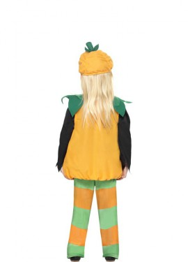 Disfraz de Calabacita Graciosa para niños