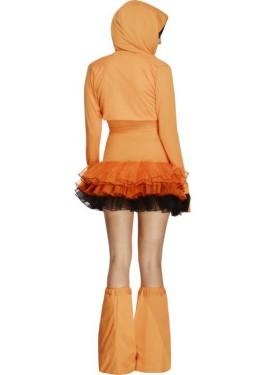 Disfraz de Calabaza Tutú para mujer