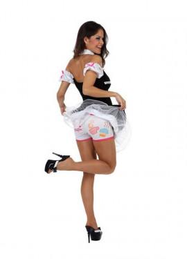 Disfraz de Camarera Sexy para mujer