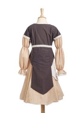 Disfraz de Campesina medieval Cateline para niña