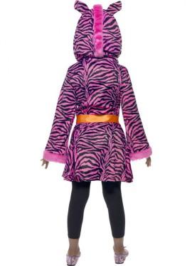 Disfraz de Cebra Rosa para Niña