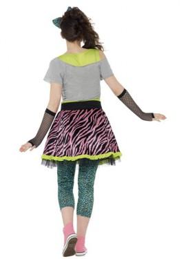 0b38d2d6f ... Disfraz de Chica Pop de los Años 80 para mujer