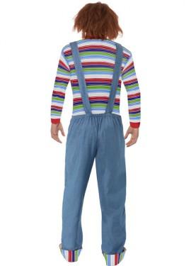 Disfraz de Chucky de El Muñeco Diabólico para hombre