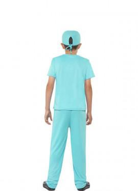 Disfraz de Cirujano Azul para niño