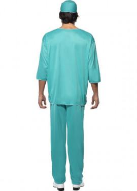 Disfraz de Cirujano Verde para hombre
