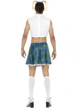 Disfraz de Colegiala Sexy para hombre