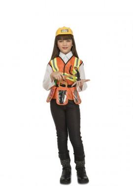 Disfraz de Constructor con Accesorios para niños