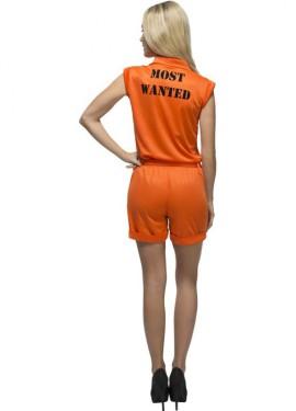 Disfraz de Convicta Orange para mujer