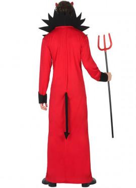 Disfraz de Diablo con cuello para hombre
