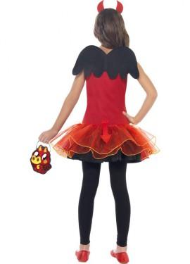 Disfraz de Diavlo Moshi Monsters para niña