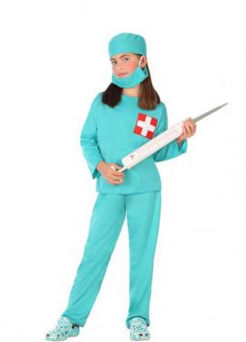 Déguisementde Docteur avec Croix pour enfant