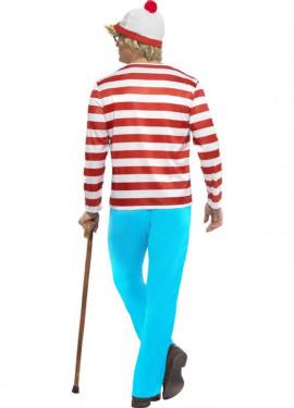 Disfraz de Dónde está Wally: Wally para Hombre