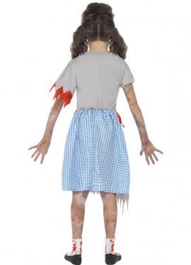 Déguisement de Dorothée Zombie pour enfants Halloween