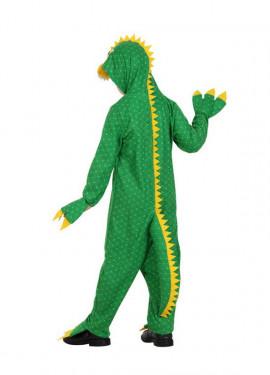 Disfraz de Dragón verde para niños