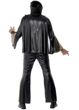 Disfraz de Elvis negro para hombre