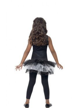 Disfraz de Esqueleto Tutú para niña