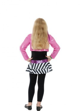 Disfraz de Estrella del Rock para niña