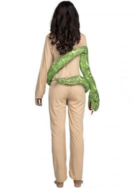 Déguisement de Eva avec le serpent pour femme