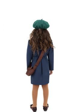 Disfraz de Evacuada de la 2ª Guerra Mundial para niña