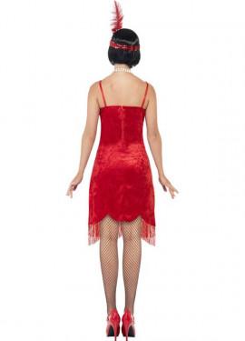 Déguisement Flapper Année 20 Rouge pour Femme plusieurs tailles