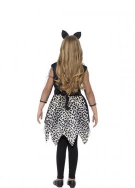 Disfraz de Gata Negra para niña