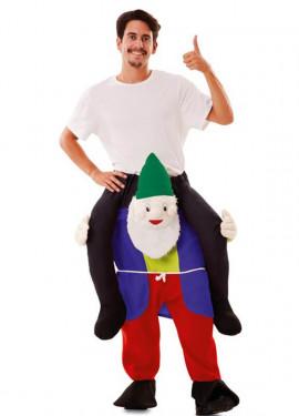 Disfraz de Gnomo a hombros para adultos