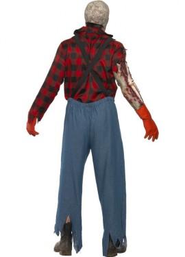 Disfraz de Granjero Zombie para Hombre