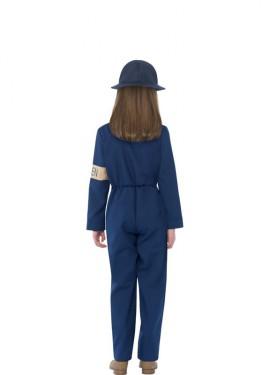 Disfraz de Guardián de Ataque Aéreo de Historias Horribles para niña