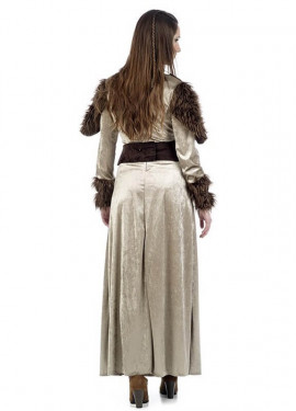 Disfraz de Guerrera Medieval Freya para mujer