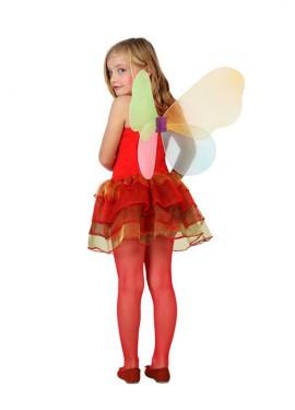 Déguisement de Fée Automne Rouge pour enfants plusieurs tailles