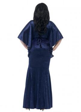 Déguisement de Sorcière Bleue pour femme