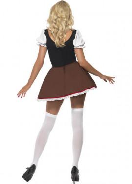 Disfraz de Heidi Sexy para Mujer para Oktoberfest