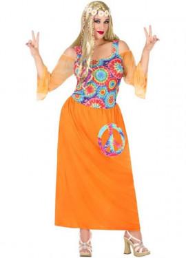 Déguisement de Hippie pour la Paix pour femme