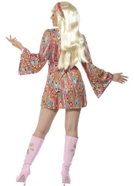 Disfraz de Hippy Picante para Mujer