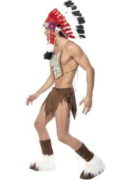 Disfraz de Indio de los Village People para Hombre