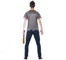 Déguisement de Joueur de Baseball Zombie pour homme