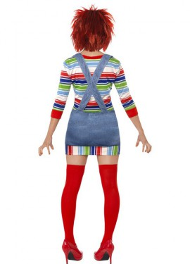 Déguisement la Fiançée de Chucky pour femme taille L