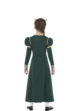 Disfraz de la Princesa Fiona de Shrek para niña