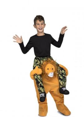 Disfraz de León a hombros para niños