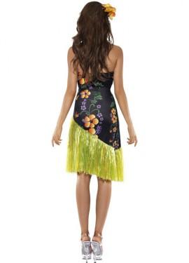 Disfraz de Luau Hawaiano para mujer