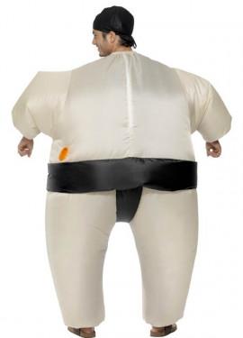 Disfraz de Luchador de Sumo Hinchable para adultos