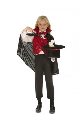 Disfraz de Mago con accesorios para niños